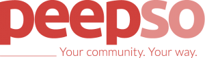 PeepSo Logo - Red