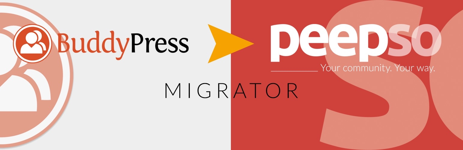 BuddyPress To PeepSo Migration Tool – PeepSo