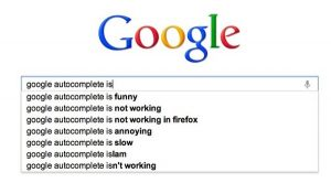 Social Networking from Apps to Zombies: Questions from Google Autocomplete
