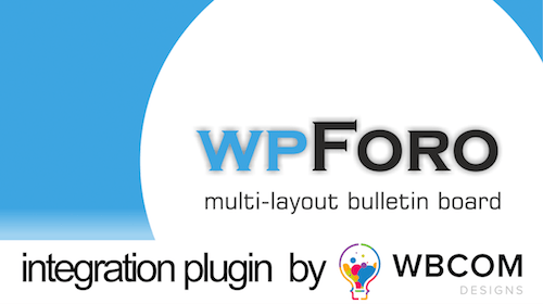 wpForo - PeepSo Integration Plugin by WBCOMdesigns