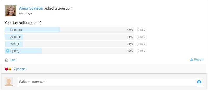 Stream Polls