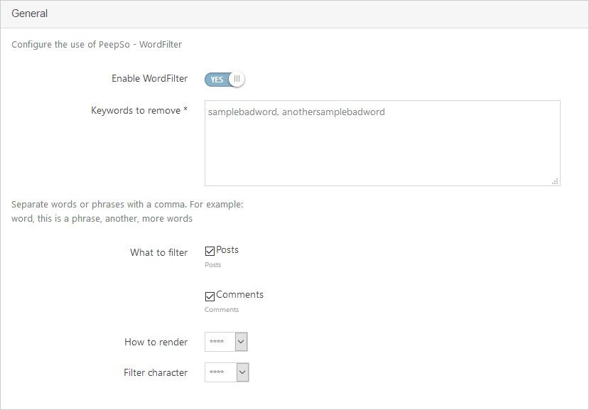 WordFilter