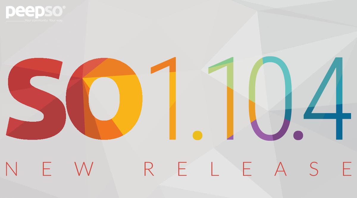 PeepSo 1.10.4 Release