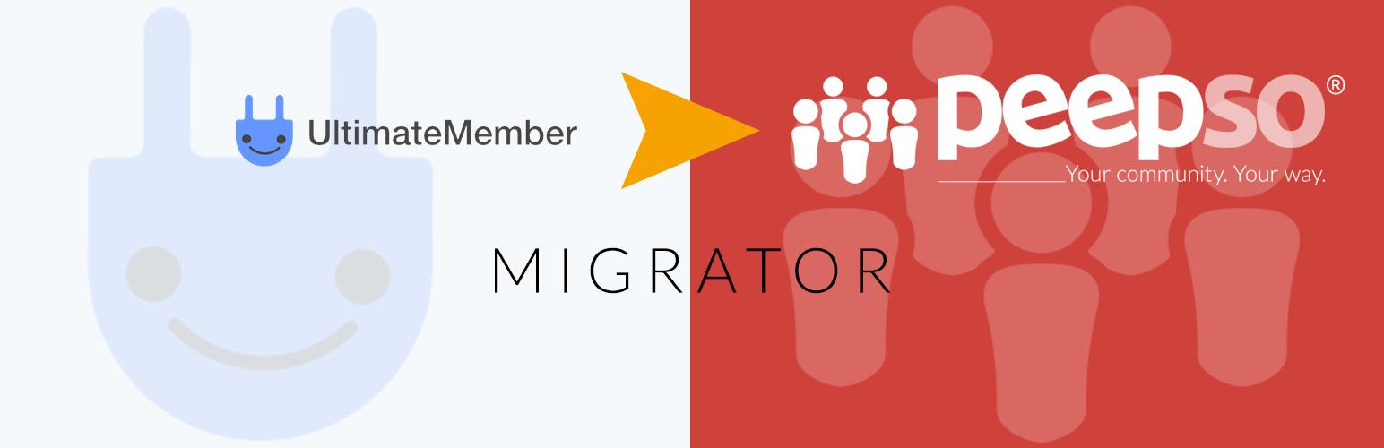 UM to PeepSo Migration Tool