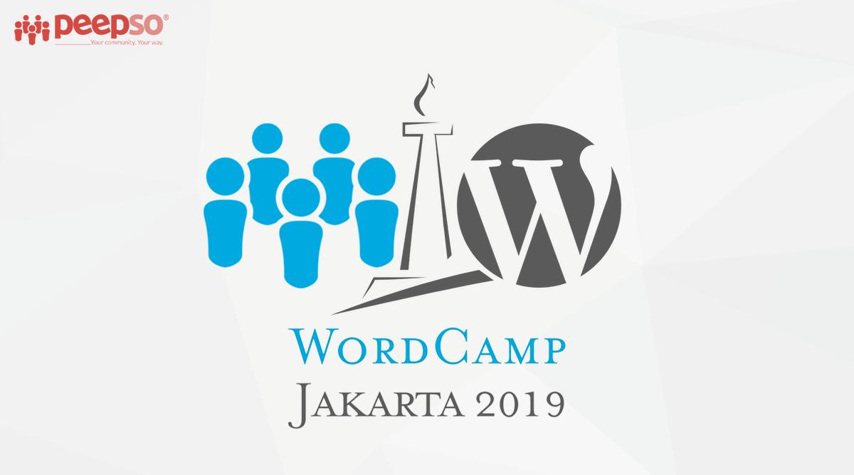 Meet PeepSo Team At WordCamp Jakarta