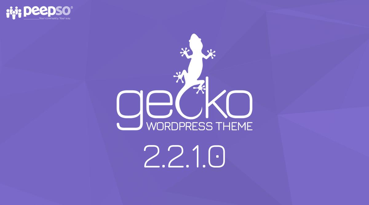 Gecko Theme 2.2.1.0